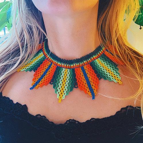 Hojas Embera Necklace
