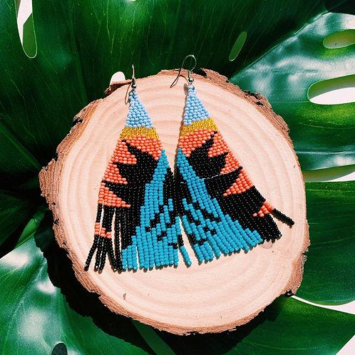Embera Earring Sunrise Surfer