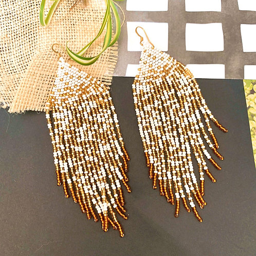 Embera Beaded Boho Mercedes Earrings