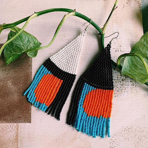 Embera Earring Atardecer