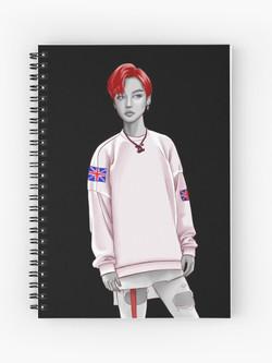 Spiral Notebook £9.71 (black)