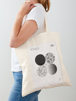Cotton tote bag only £11.46!