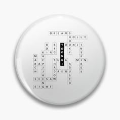 Yoongi Crossword Badge.jpg