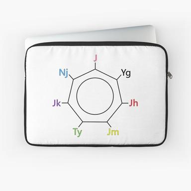 ot7 ring laptop sleeve