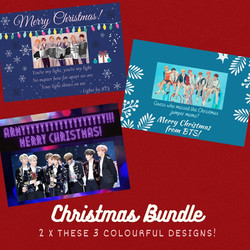 Xmas 6 card bundle
