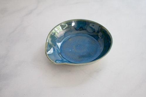 Oasis blue spoon rest