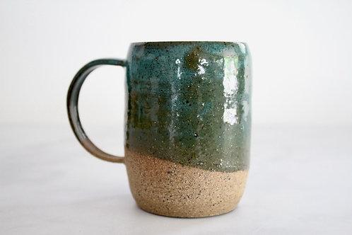 Speckled jade mug