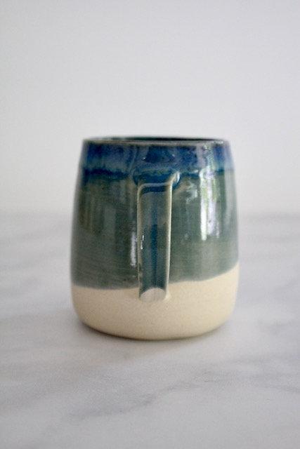 Oasis blue mug