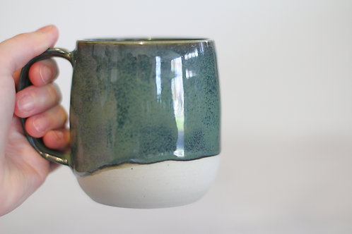 Dark green mug