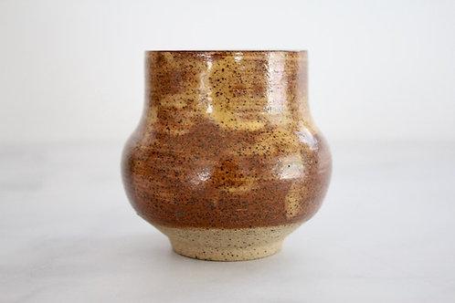 Butterscotch bud vase