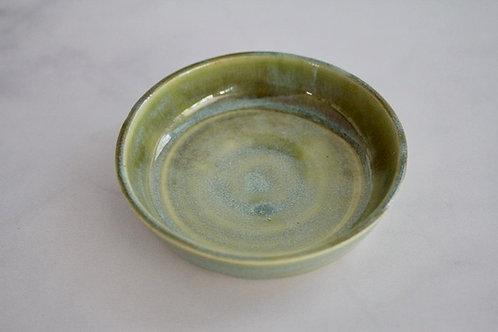 Sage green catch-all dish