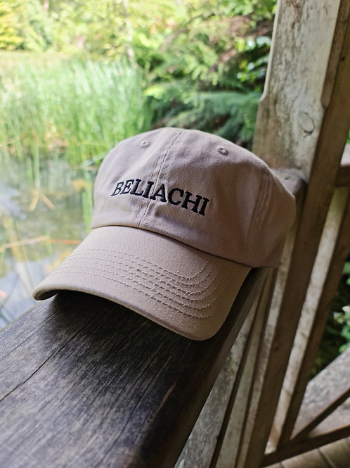 Tan Beliachi Strapback Hat