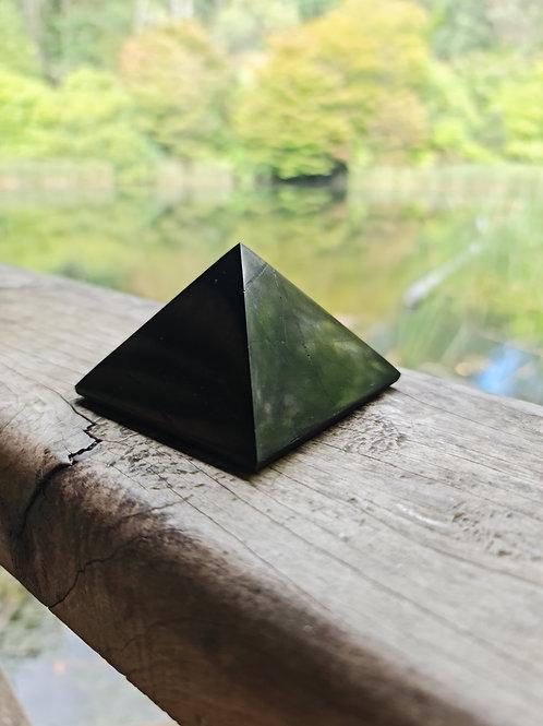 7cm Polished Shungite Pyramid