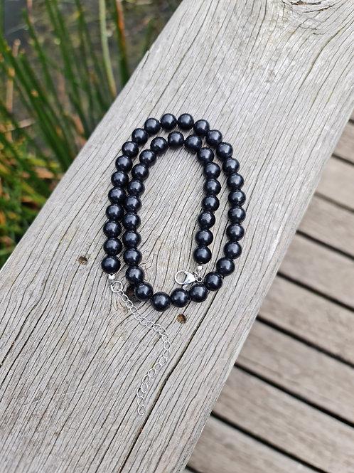 10mm Shungite Necklace