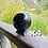Thumbnail: 4 x 10cm Polished Shungite Sphere (w/ Large Stand)