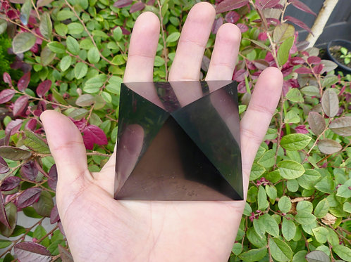 7cm Polished Shungite Pyramid
