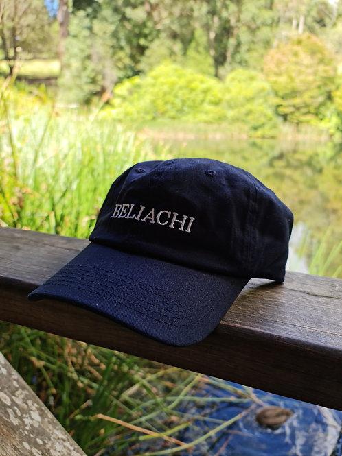 Navy Beliachi Strapback Hat