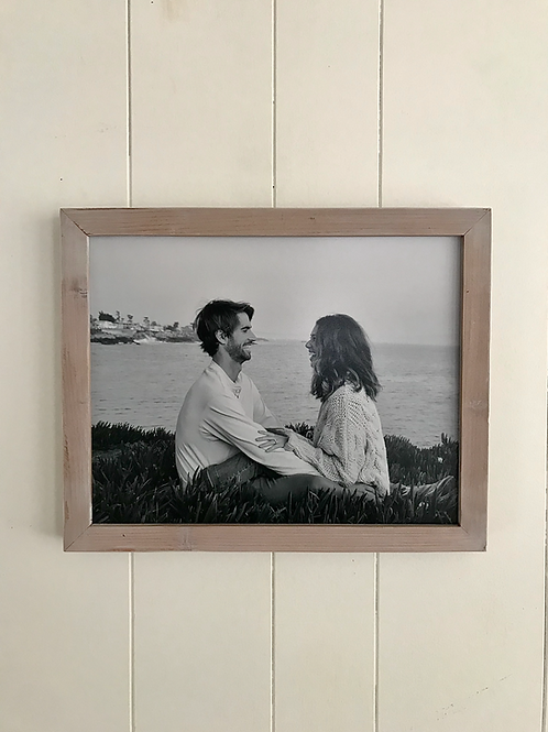 White-wash Picture Frame