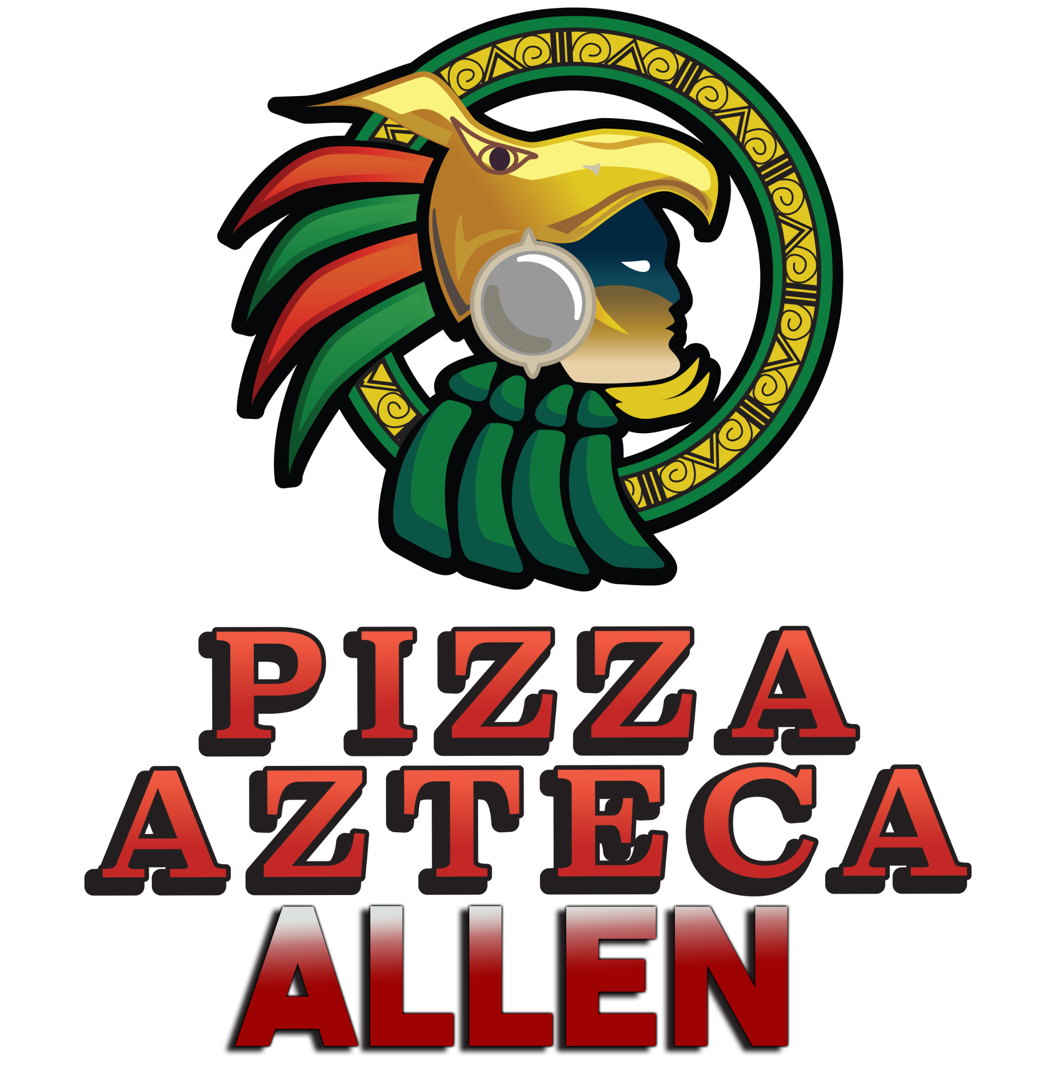 Pizza Azteca logo color