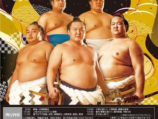 8/11(土・祝) 大相撲南陽場所!