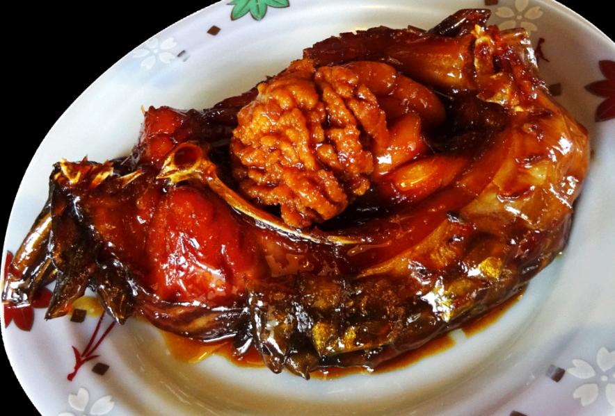 鯉のうま煮 (渡部鯉店)