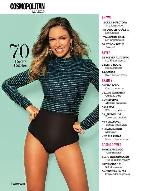 cosmopolitan argentina cover story editorial glitter party dress rocio robles fashion