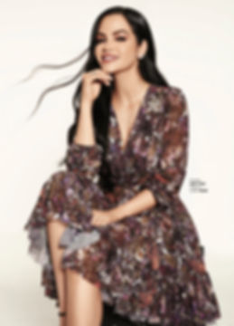 Cosmopolitan fashion magazine editorial front cover natti natasha bulgari mexico city singer regaton cosmo