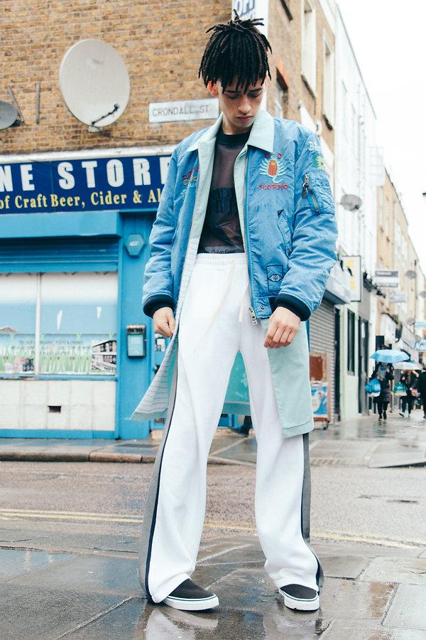 The Universe the greatest magazine italian milan blue winter fashion editorial story menswear mens style diesel vans
