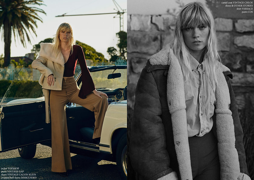 without you editorial story fasion womenswear style styling versace cape town 70's 80's calvin klein topshop cos othe stories saint laurent