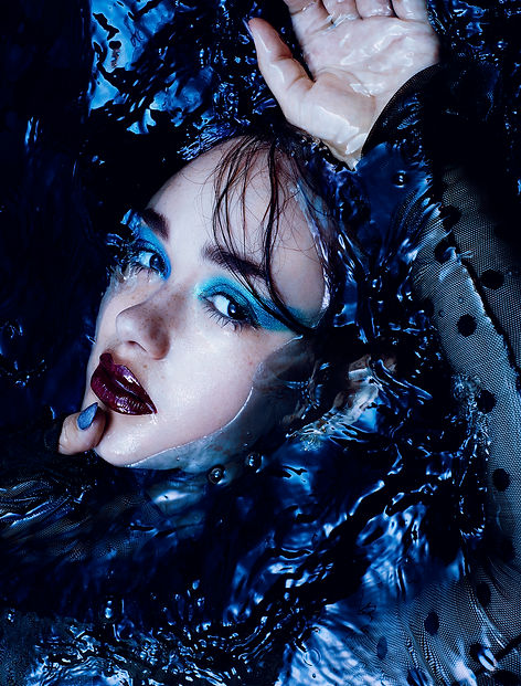 blue crush rankin hunger magazine actress rose williams london fashion water beauty lips story editorial fashion
