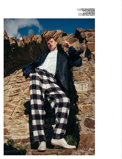 mmscene what dreams may come les hommes zegna louis vuitton fashion menswear menstyle clothing style editorial story castle ginger male model