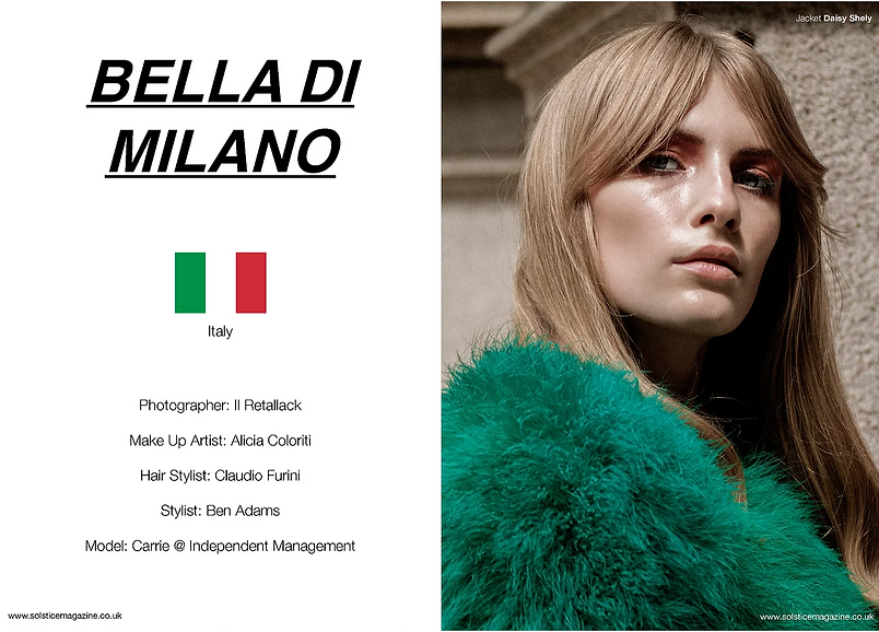 Milan fashion story subway metro editorial womenswear fur model