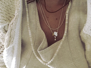 SV W chains amulet Necklace
