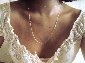 10k Choker / 10k Long Necklace