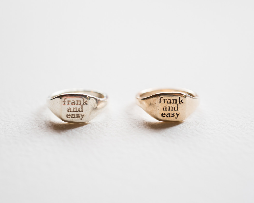 frank and easy sign ring3