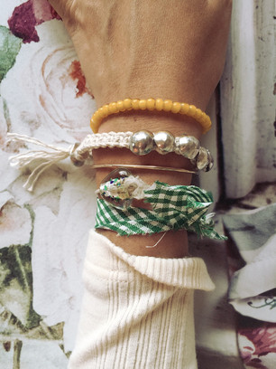 SV concho cotton bracelet