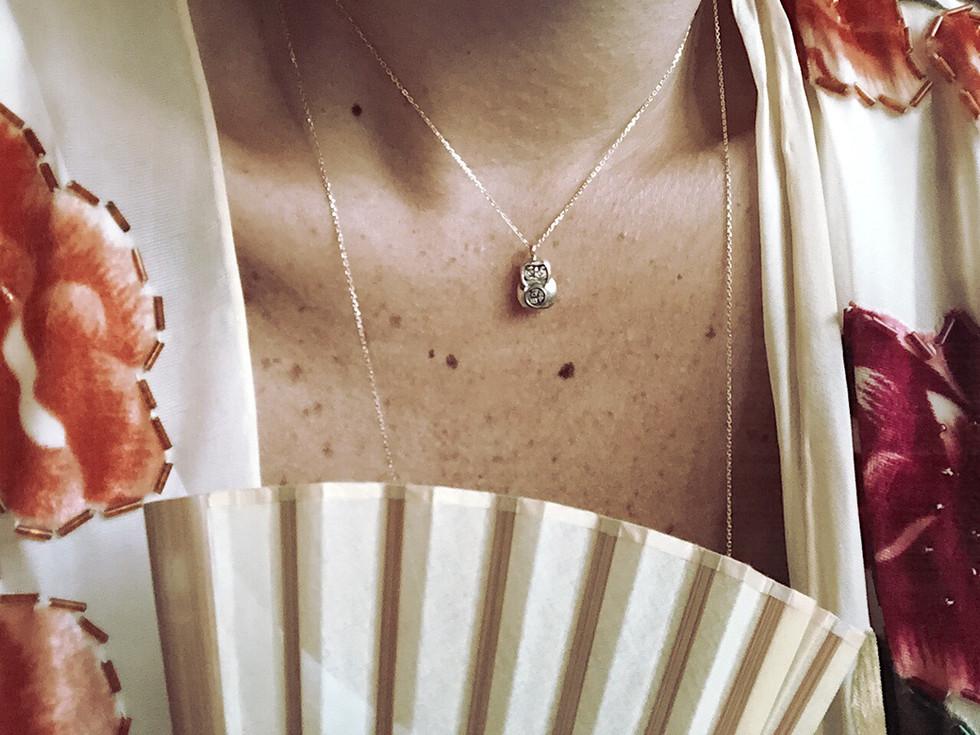 K10 Daruma Necklace