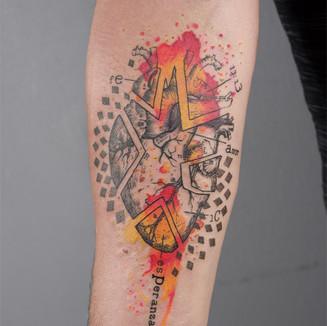 human heart tattoo berlin lital din fore