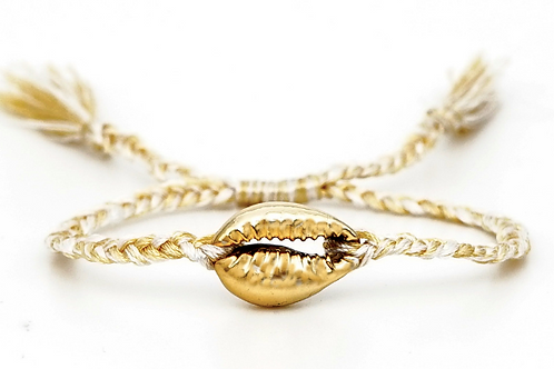 Conch Tassel Bracelet