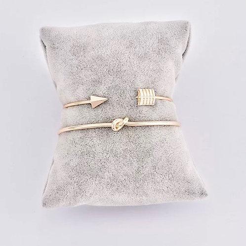 Alice Knot Bracelet Set