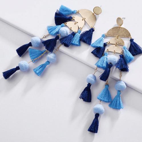 Alice Tassel Earrings