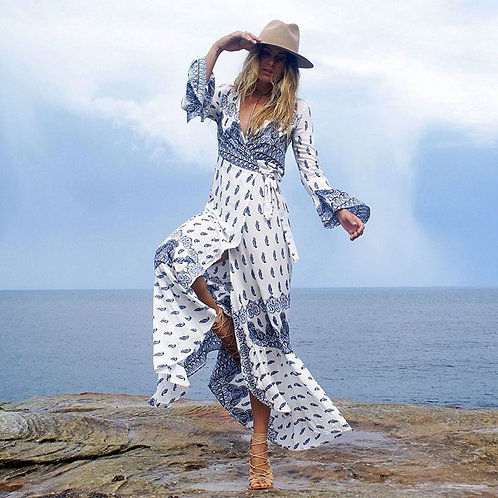 Let's Hit the Road Maxi Dress