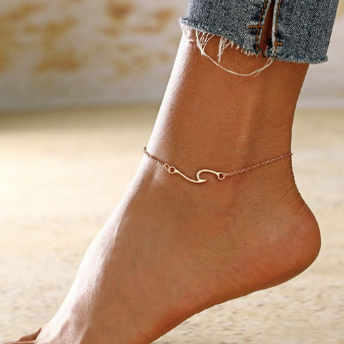 Catch a Wave Anklet