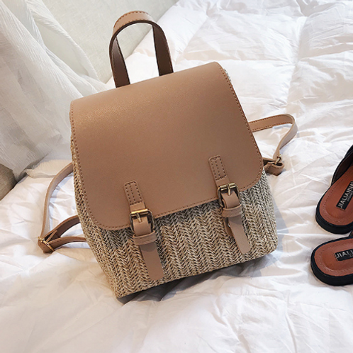 Take Me With You Rattan Backpack