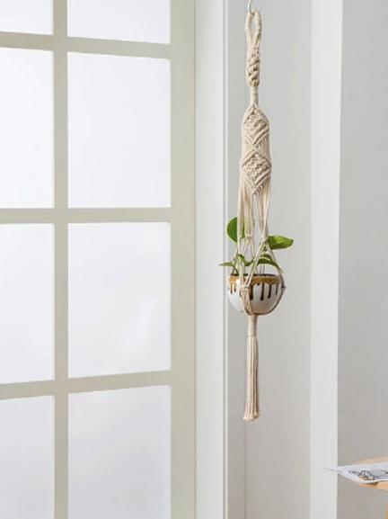 Boho Woven Plant Hanger