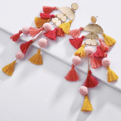 Alexa Tassel Earrings