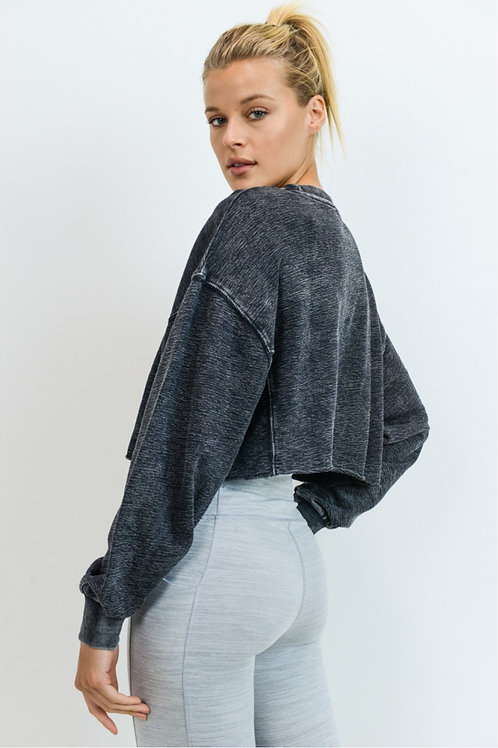 Chelsea Cropped Pullover