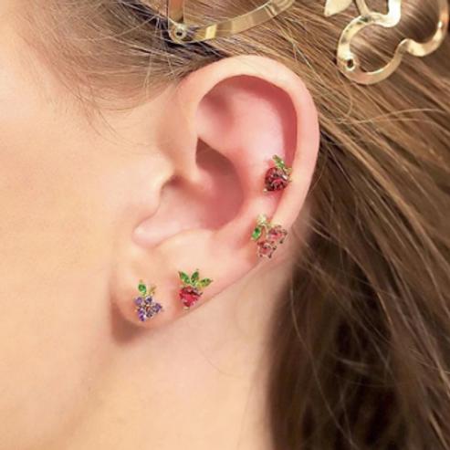 Fruity Ear Party Studs