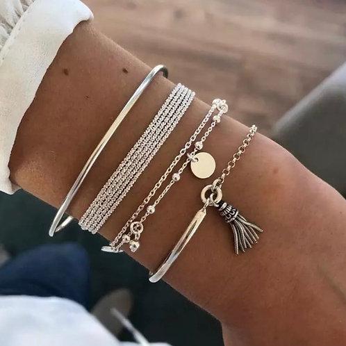 Stacy Charm Bracelet Set