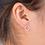 Thumbnail: Silver Minimalist Circle Studs